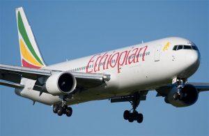 Ethiopian Airline Jet